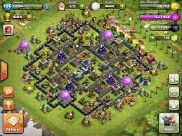 Clash Of Clans Maps Pin By Andrew Mawhinney On Games Pinterest Gaming