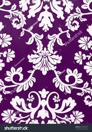 modern floral wallpaper fashionable modern purple floral wallpaper stock photo 140694487