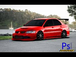 lancer mitsubishi 2008 virtual tuning photoshop mitsubishi lancer evolution iii 2008 30