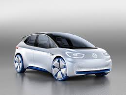 volkswagen volkswagen id electric concept car paris motor show photos