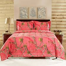 Shop Bedding Sets Camo Bedding Realtree Coral Camo Comforter Sets Shop Here Now