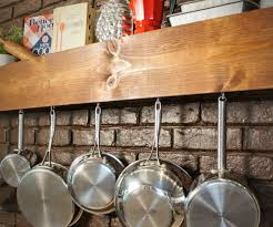 groovy pot rack together with diy kitchen storage shelf plus pot