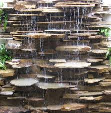 Rock Water Features For The Garden Water Features And Fountains Contemporary Landscape Miami
