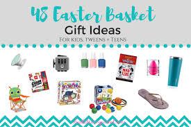 Basket Gift Ideas Easter Basket Gift Ideas For Preschoolers Kids Tweens And Teens