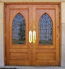 All Glass Exterior Doors Custom Doors Stained Glass Glass Wood Doors Church Doors