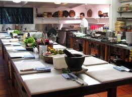 Cafeteria Kitchen Design Kitchen Kitchen Cooking Table Ideas For 2 Of 8 Photos