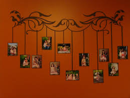 hanging how to hang a canvas wall art with wooden frame home idolza ideas about family tree wall on pinterest decor and mural hotel lobby design what