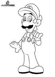 47 dessins de coloriage Luigi à imprimer sur LaGuerchecom  Page 2