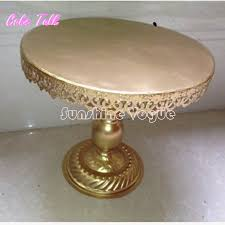 gold wedding cake stand gold metal iron wedding cake stand barware decorating tools 14