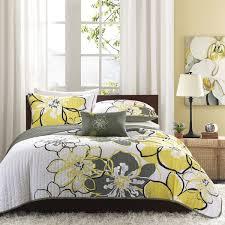 mi zone mackenzie yellow printed quilt mini set free shipping