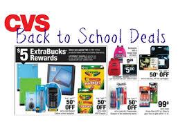 cvs back to school deals 2017 school supplies clothes