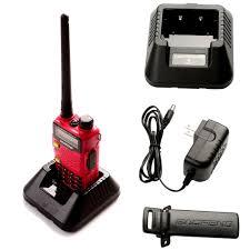baofeng uv 5r5 dual band walkie talkie two way radio transceiver