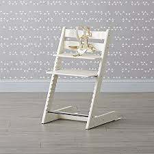 stokke tripp trapp high chair in white the land of nod