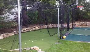 batting cages game on sport surfaces
