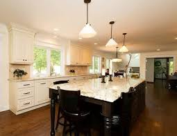 Kitchen Counter Island Interior Decoration Modern Kitchen With White Kitchen