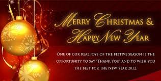 merry happy new year messages merry and happy