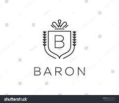 Monogram Letter B Elegant Monogram Letter B Logotype Premium Stock Illustration