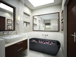 small luxury bathroom marble countertop bath vanity cabinet white