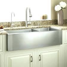 Farm Sink Kitchen Kohler Stainless Steel Apron Front Sink Puromilano Club