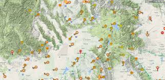 Idaho Hunting Unit Map Solar Eclipse Tour Usa 2017