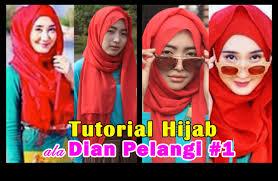 tutorial pashmina dian pelangi tutorial hijab pashmina ala dian pelangi 1