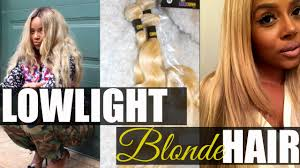 light in the box weave how to dye low light 613 blonde hair weave youtube