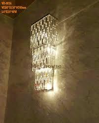 aliexpress com buy sconce modern crystal wall light fashion