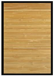 Bamboo Area Rugs Mats Contemporary Bamboo Rug 5 W X 8 L Kitchen