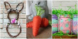 easter crafts you can make using stuff from the dollar store