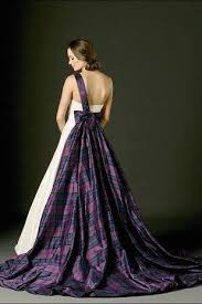 scottish wedding dresses best 25 tartan wedding dress ideas on scottish