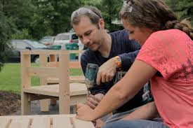 How To Build Patio Furniture Sectional - how to build an outdoor sectional knock it off east coast