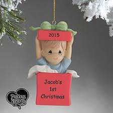 personalized baby photo ornaments it s a boy or