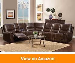 Sectional Reclining Sofas Leather Best Leather Reclining Sofas Review In 2018 A Buyer S Guide