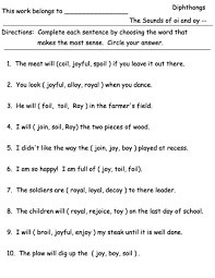 oi and oy worksheets 28 templates oi and oy activities images
