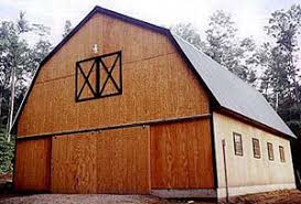 Gambrel Roof Pole Barn Plans Gambrel Roof Construction Equine Facilities Barn Roof Styles