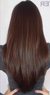 Frisuren Und Farbe Lange Haare by V Schnitt Für Lange Haare