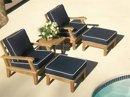 Patio Chair And Ottoman Set Outdoor Living U2014 Woodstock Home U0026 Hardware