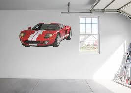 ford gt wall decal shop fathead for ford decor ford gt fathead wall decal