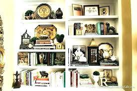 how to style a bookcase how to style a bookcase nourishd co