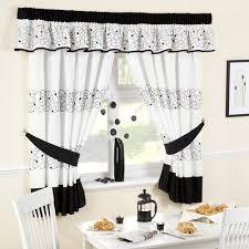 Kitchen Curtains Uk by Jazz Black Kitchen Curtains 46