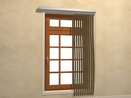 Installing Window Blinds Outside Mount 3 Ways To Install Vertical Blinds Wikihow