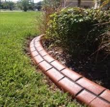tampa curbing landscape borders concrete edging decorative cement