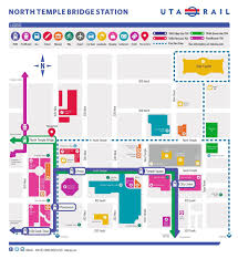 Map Legend Symbols Uta To Add New Wayfinding Maps And Signs To Orem Station And