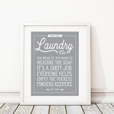 Laundry Room Decor Signs Laundry Room Print Laundry Sign Laundry Room Sign