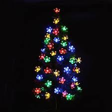 Christmas Decoration Lights Best 25 Solar Powered Christmas Lights Ideas On Pinterest Solar