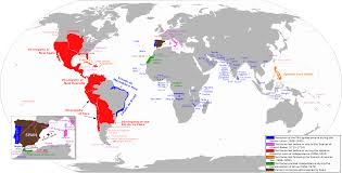 In And Out Map The Rise And Fall Of Spanish And Portuguese Empires From W3