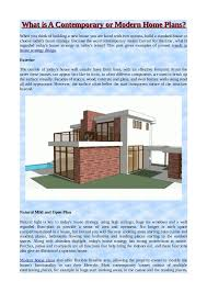 modern home plans with photos what is a contemporary or modern home plans
