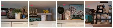personal decorating above kitchen cabinets diy the joys of jodi above your kitchen cabinets vignette collage