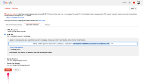 how to verify ownership of a webflow site in google webmaster