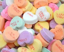 candy hearts brach s conversation hearts 3 lb bulk candy favorites